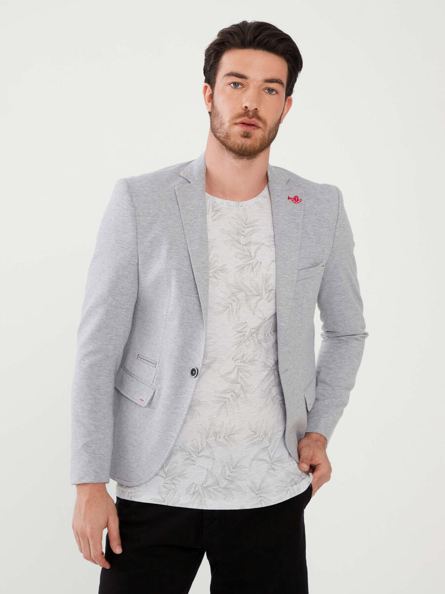 %100 Pamuk Slim Fit Ceket