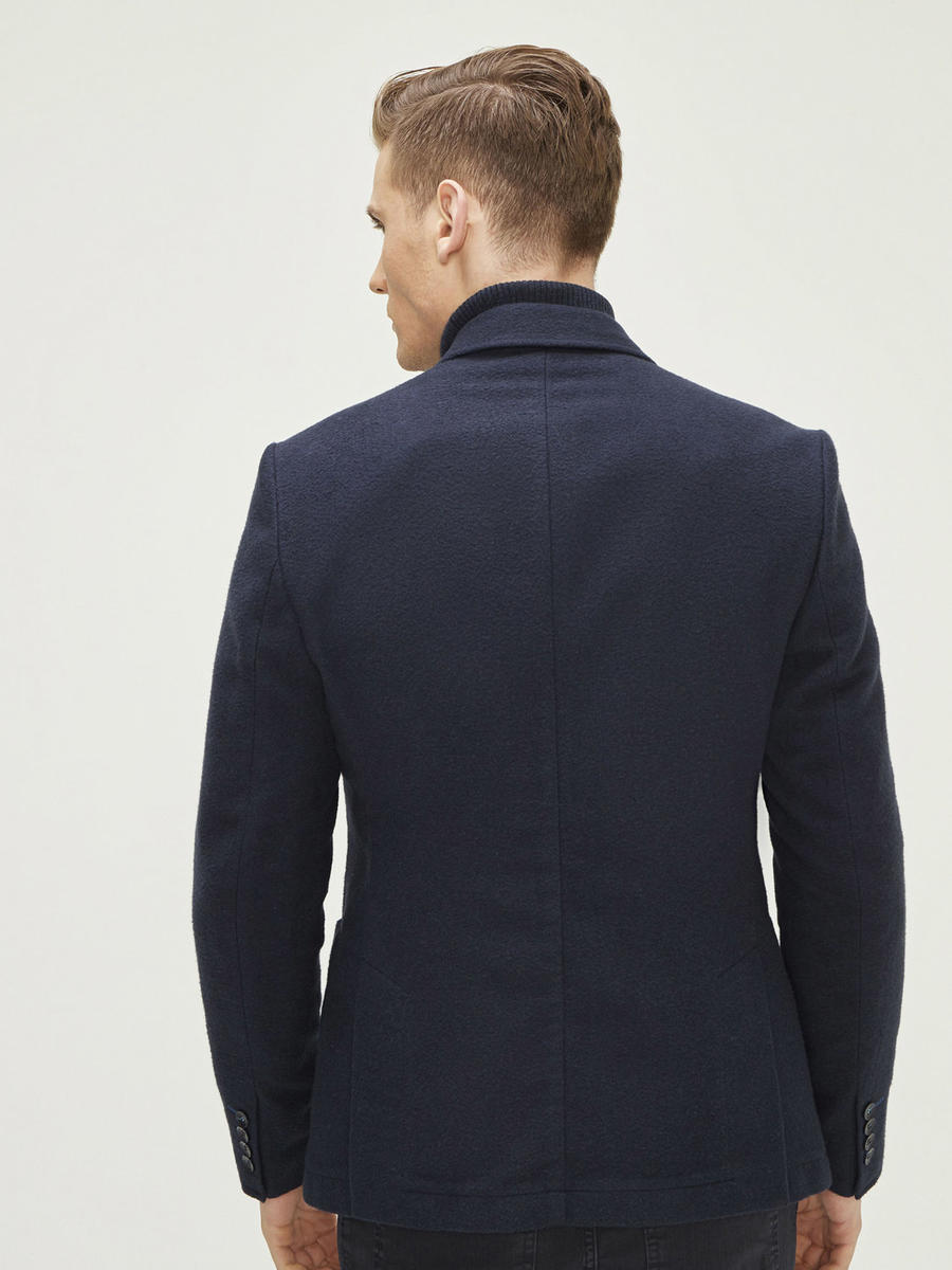 Xint Cepli Çift Yırtmaçlı Ceket