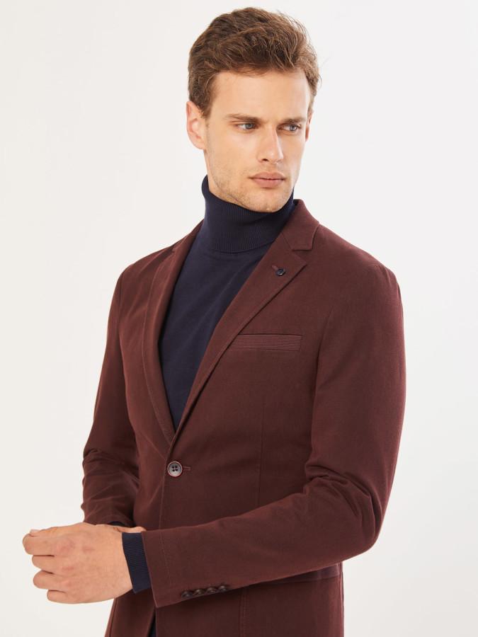 XINT - Xint Slim Fit Düğme Kapamalı Ceket (1)
