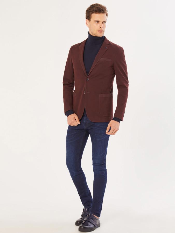 XINT - Xint Slim Fit Düğme Kapamalı Ceket
