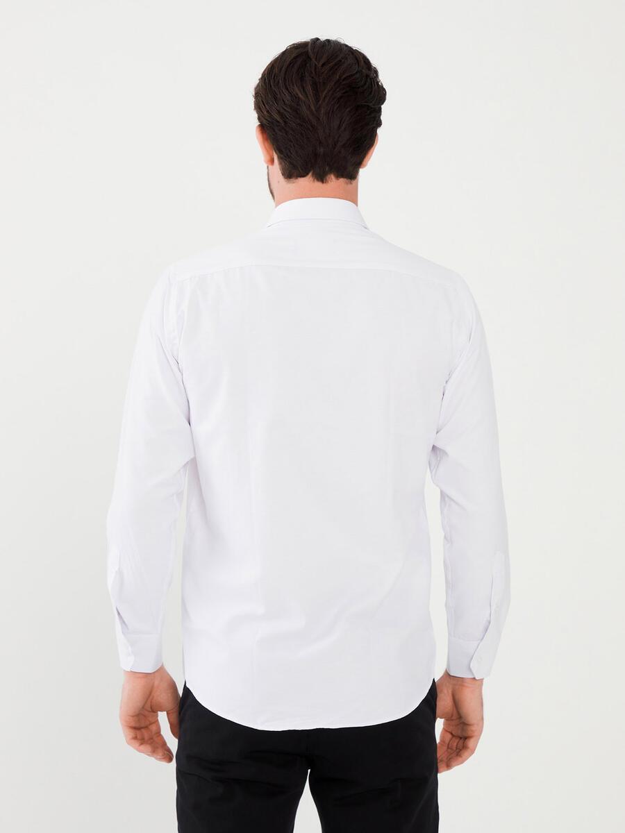 Pamuklu Slim Fit Gömlek