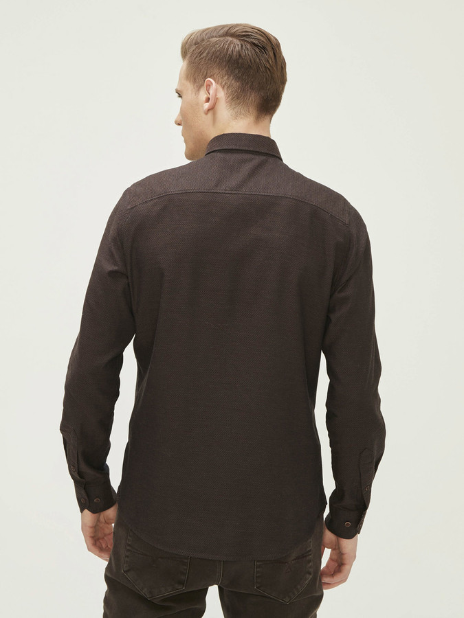 Xint %100 Pamuklu Gömlek - Thumbnail