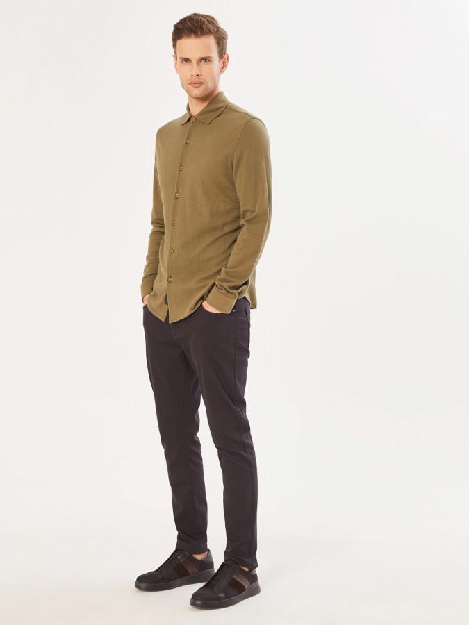 XINT - Xint Klasik Yaka Slim Fit Gömlek (1)