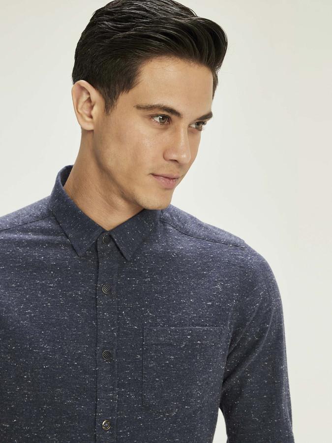 XINT - Xint Erkek Yaka Melanjlı Gömlek (1)
