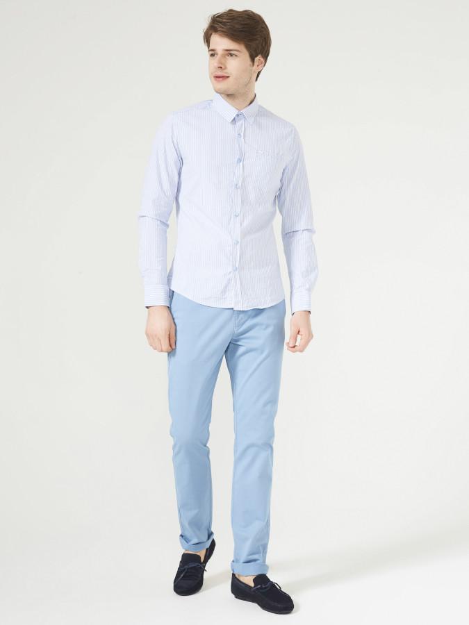 XINT - Xint Slim Fit Çizgili Gömlek (1)