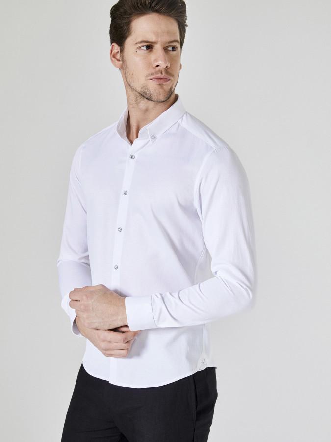 XINT - Xint Slim Fit Pamuklu Gömlek