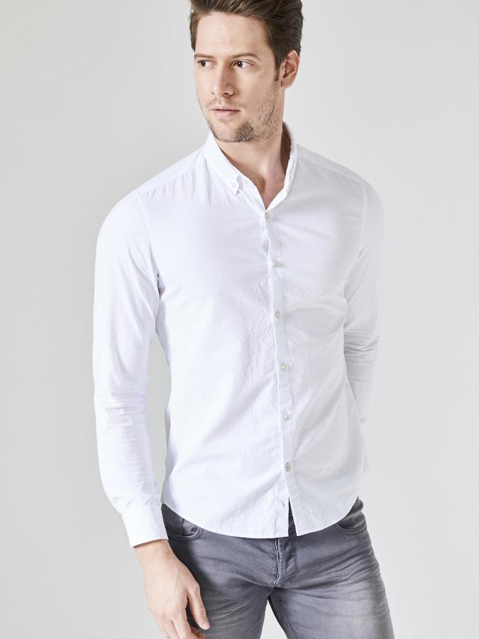 XINT - Xint Slim Fit %100 Pamuk Gömlek