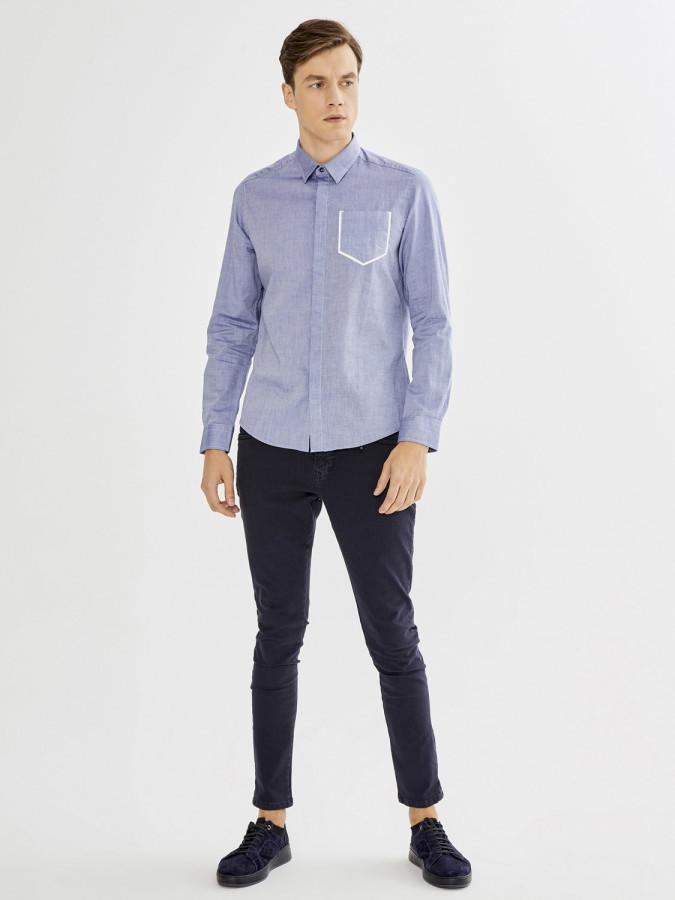 XINT - Xint Slim Fit Oxford Gömlek (1)