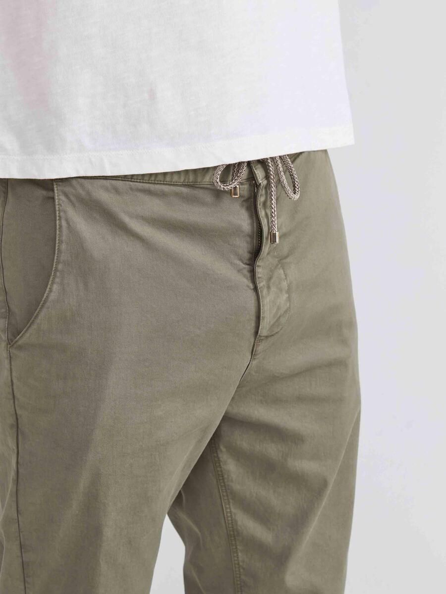 Pamuklu Slim Fit Chino Pantolon