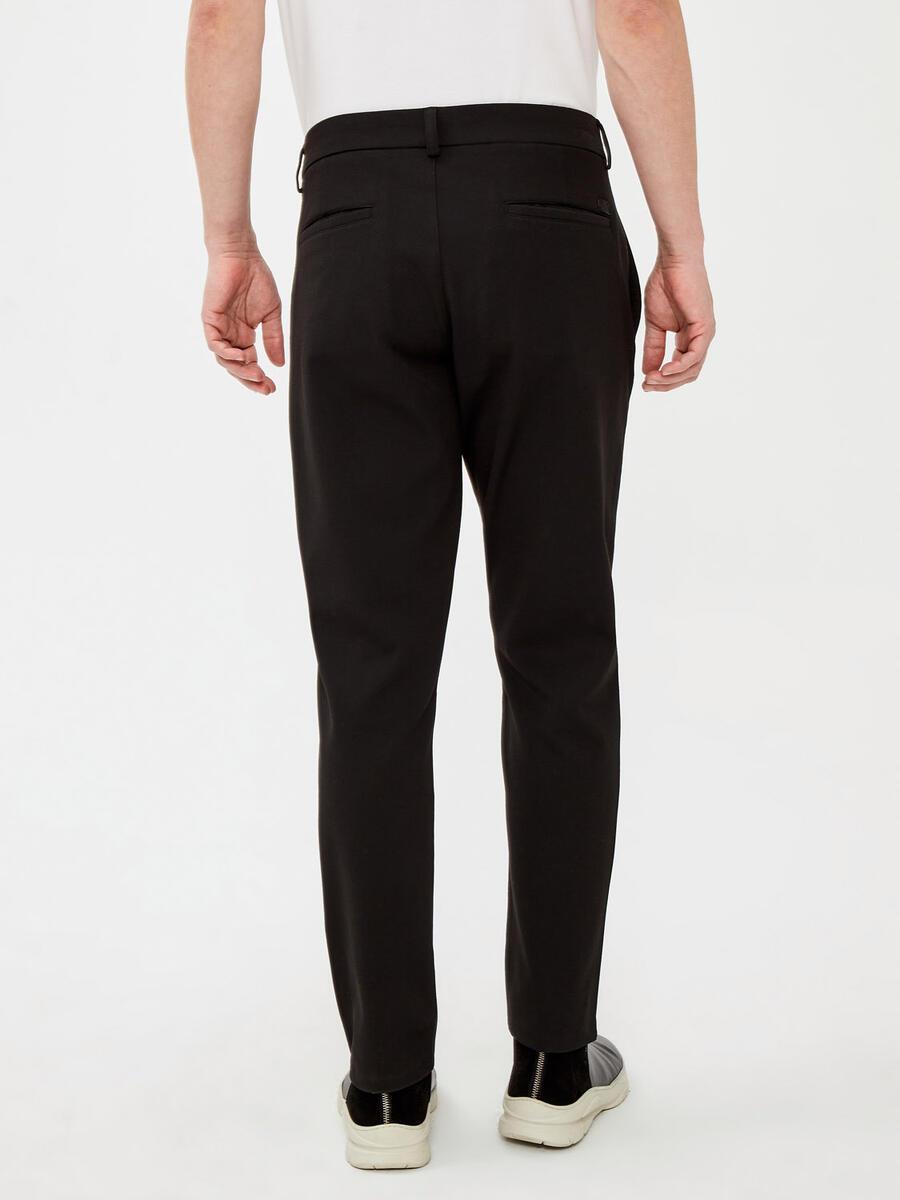 Slim Fit Kordonlu Pantolon