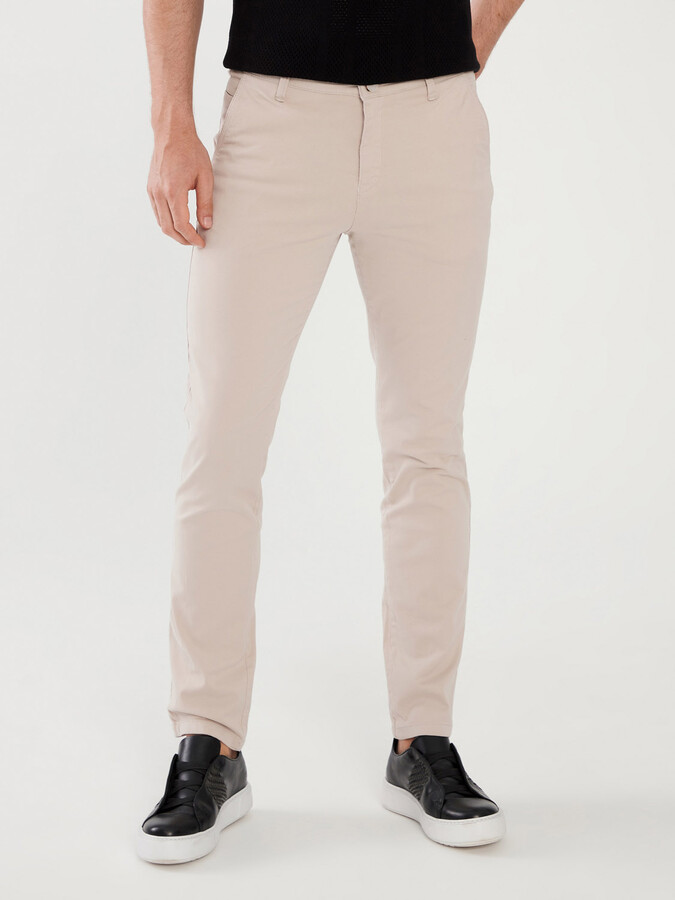 Pamuklu Slim Fit Pantolon