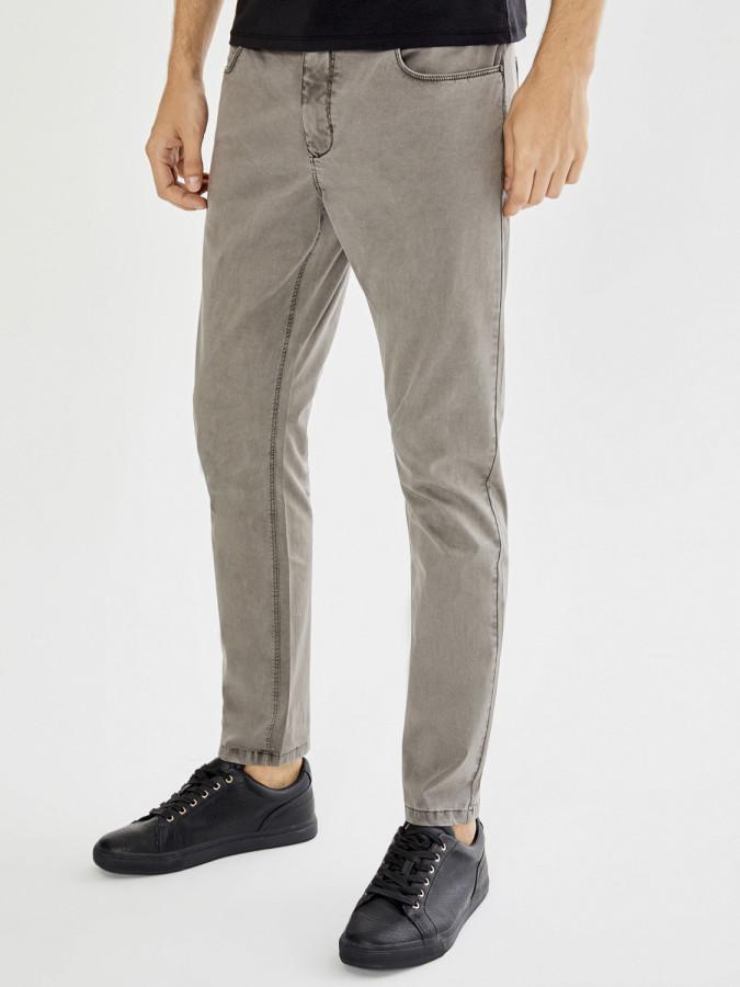 XINT - Xint 5 Cep Parça Boyalı Dar Kesim Pantolon (1)