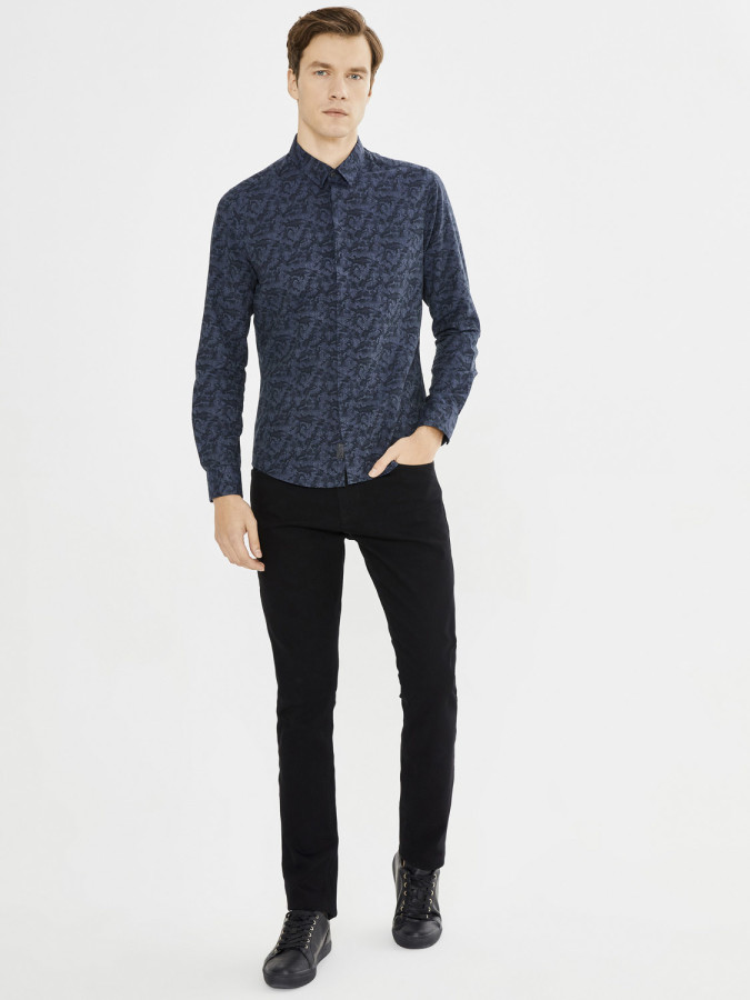 XINT - Xint 5 Cep Skinny Kalıp Denim Pantolon (1)