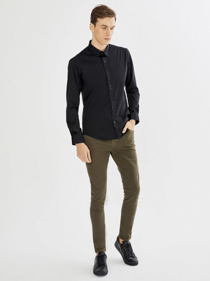 XINT - Xint Regular Fit 5 Cep Pantolon (1)