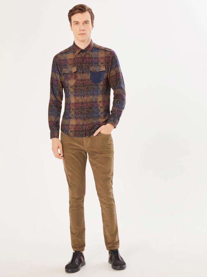XINT - Xint 5 Cep Kadife Pantolon