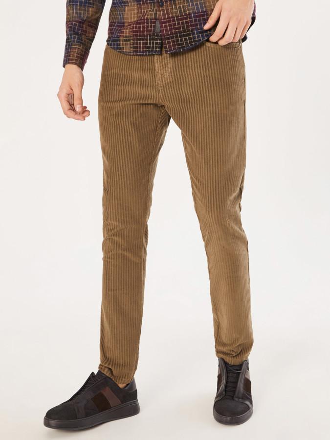 XINT - Xint 5 Cep Kadife Pantolon (1)