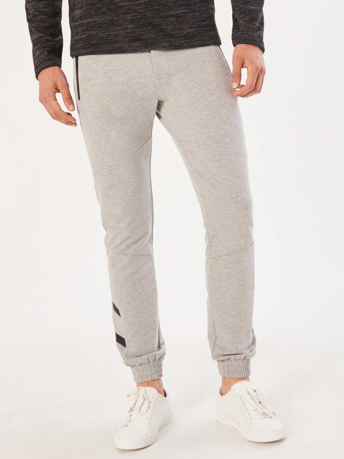 XINT - Xint Şerit Detaylı Jogger Sweat Pantolon (1)