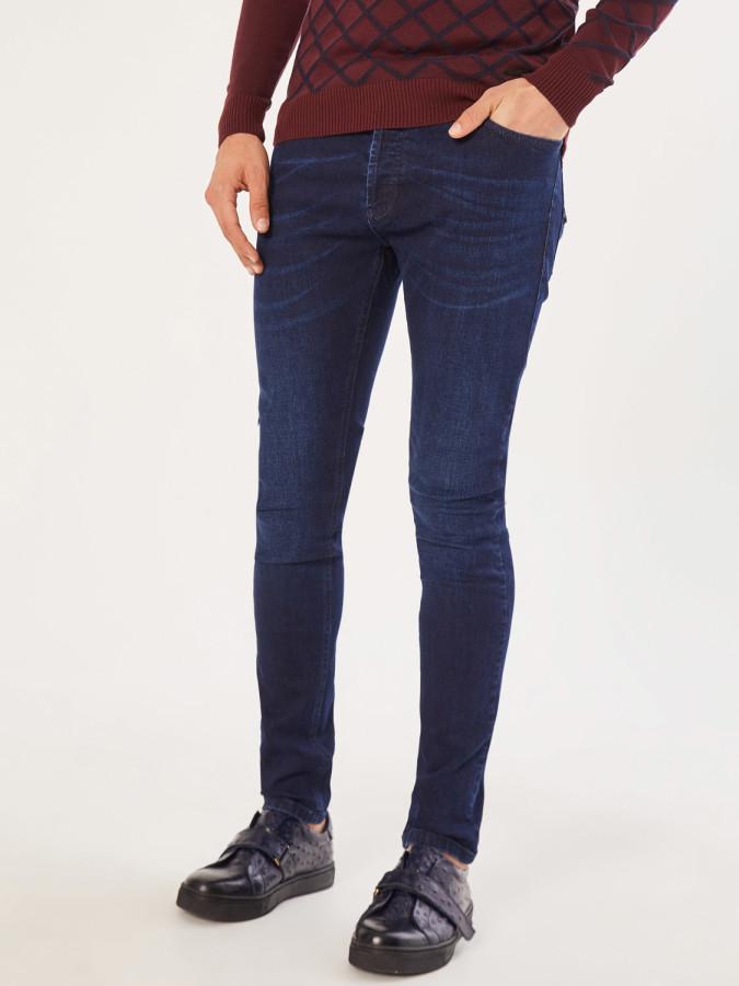 XINT - Xint Slim Fit 5 Cep Denim Pantolon (1)