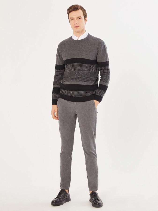 XINT - Xint Slim Fit V Cep Pantolon