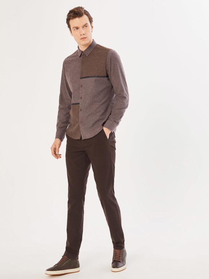 XINT - Xint V Cep Slim Fit Chino Pantolon (1)