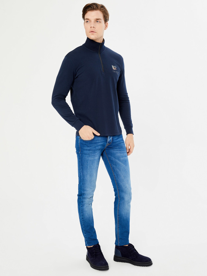 MCL - MCL Dik Yaka Sweatshirt (1)