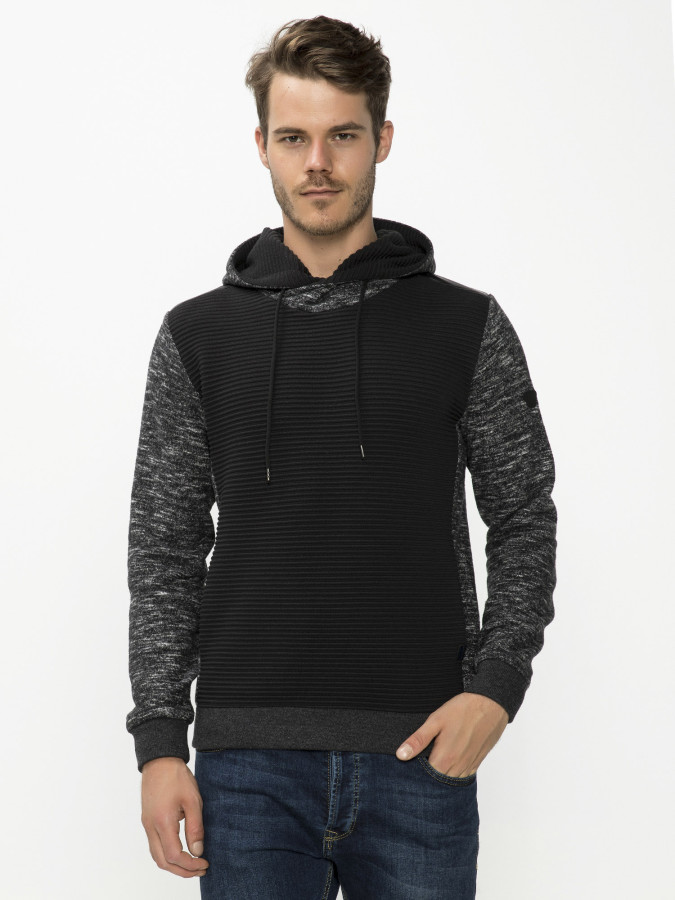 MCL - MCL Kapalı Yaka Kapüşonlu Sweatshirt (1)