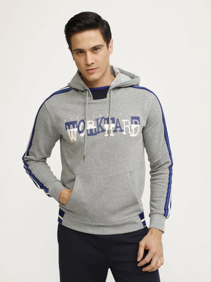 MCL - MCL Kapüşonlu Baskılı Sweatshirt (1)