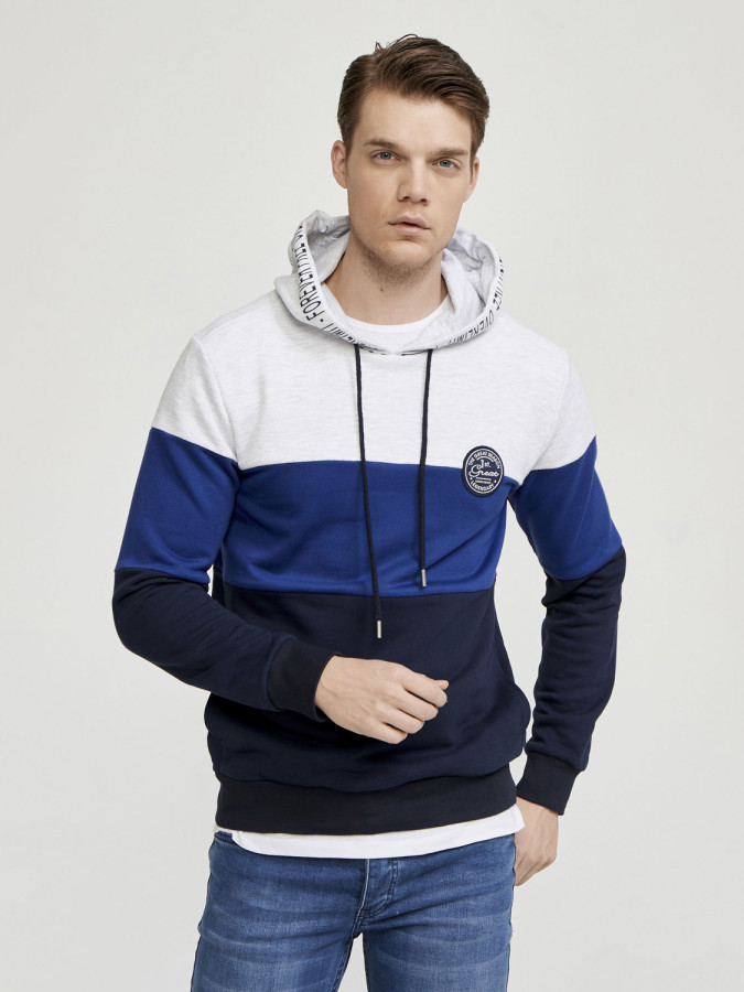 MCL - MCL Kapüşonlu Üç Renk Sweatshirt (1)