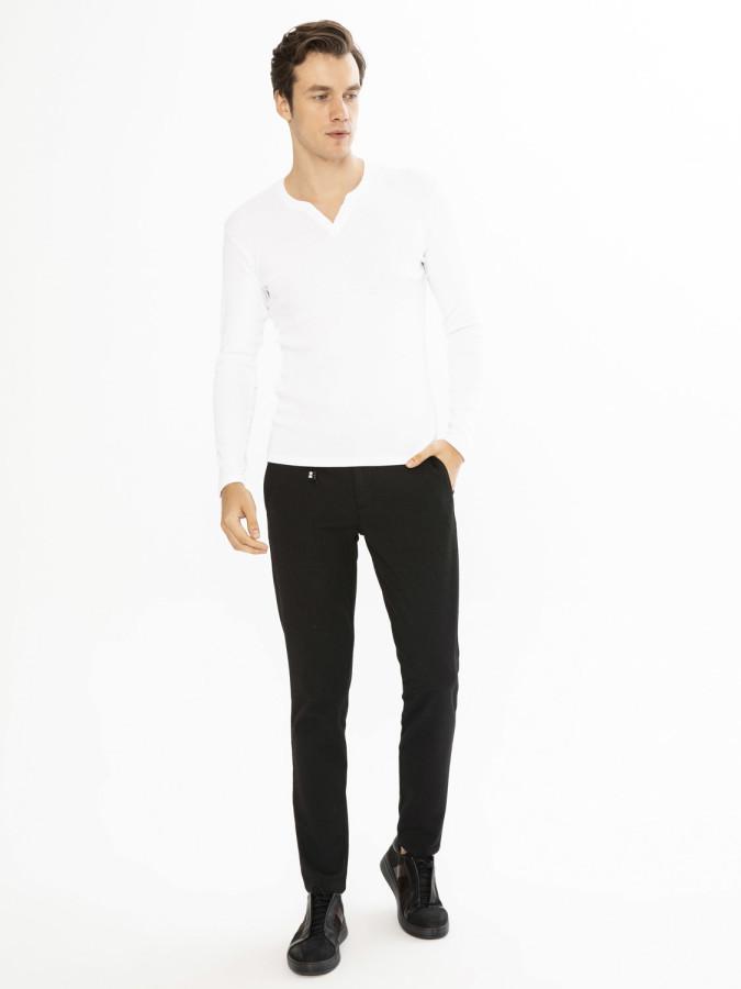 MCL - MCL Patlı Yaka Sweatshirt (1)