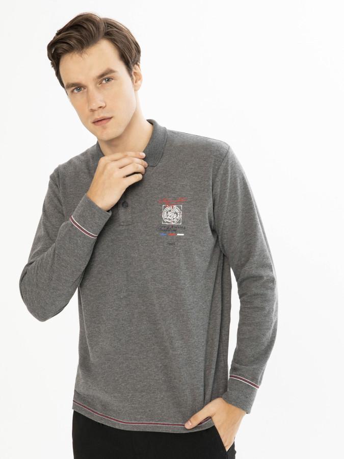 MCL Polo Yaka Sweatshirt