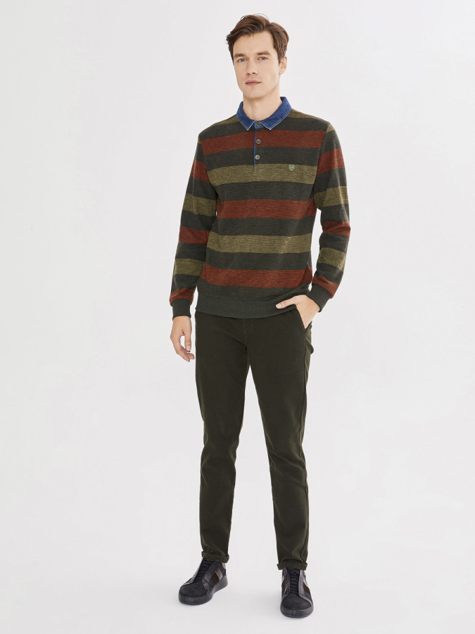 MCL - MCL Polo Yaka Sweatshirt (1)