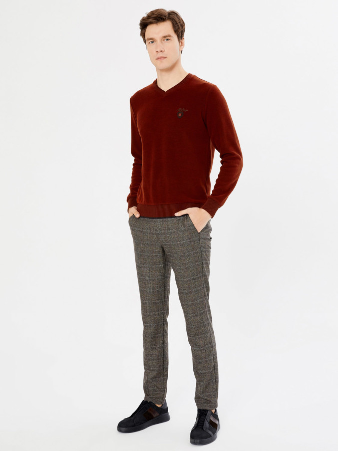 MCL - MCL V Yaka Regular Fit Sweatshirt