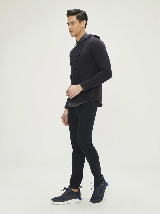 XINT - Xint Nakış Detaylı Sweatshirt (1)