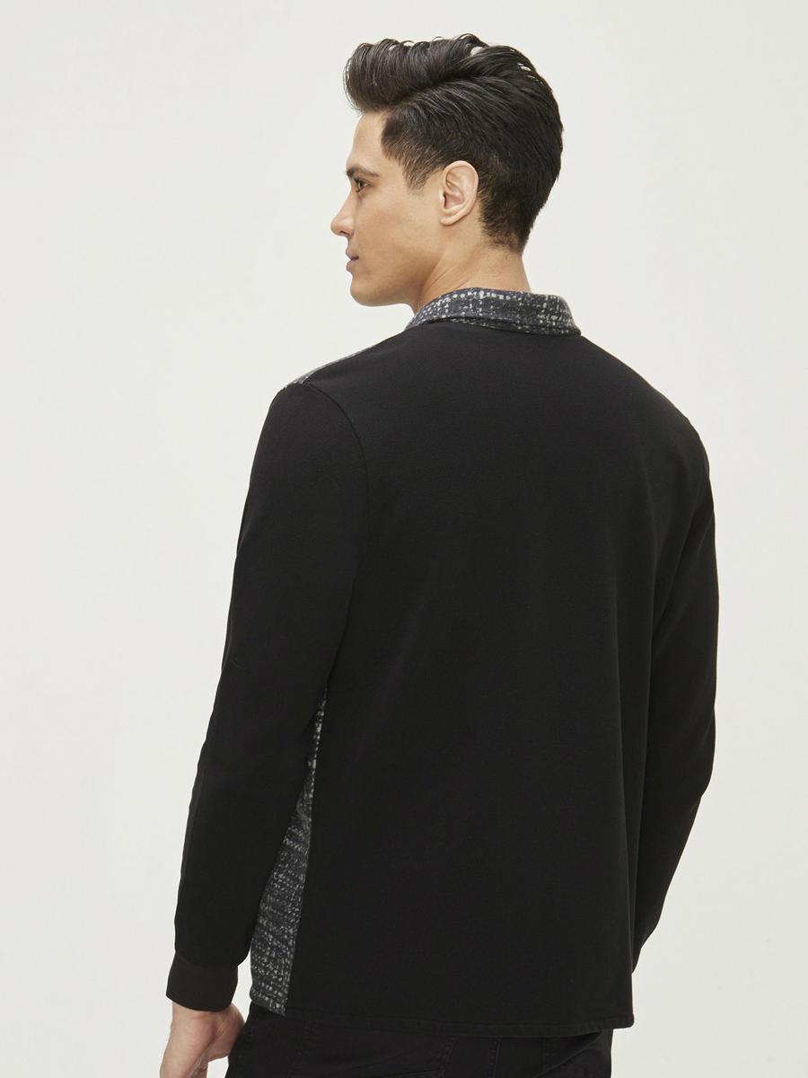 Desenli %100 Pamuklu Sweatshirt