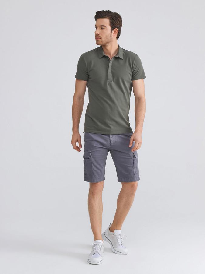 Polo Yaka Modal Karışımlı Slim Fit Tişört