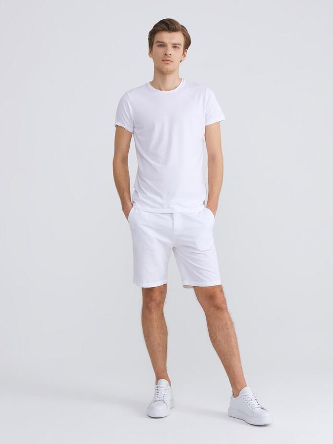 Bisiklet Yaka Modal Slim Fit Basic Tişört