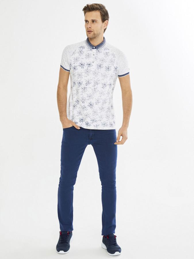 MCL - MCL Polo Yaka Desenli Tişört (1)