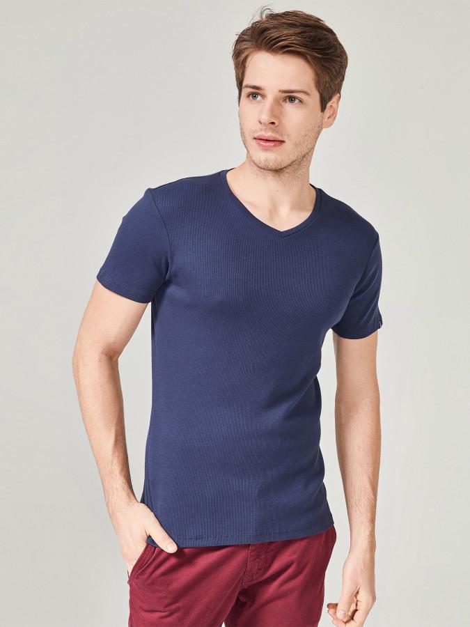 MCL - MCL V Yaka Basic Tişört