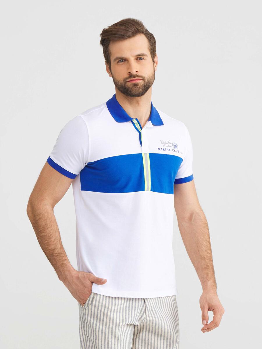 Polo Yaka Pamuklu Slim Fit Tişört