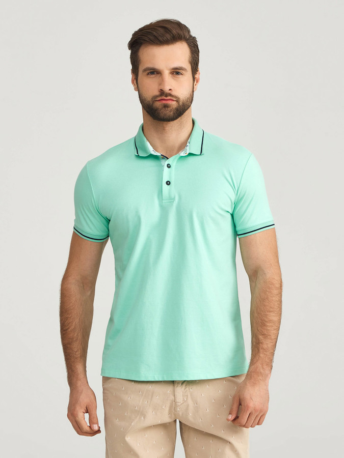 Polo Yaka Pamuklu Slim Fit Tişört