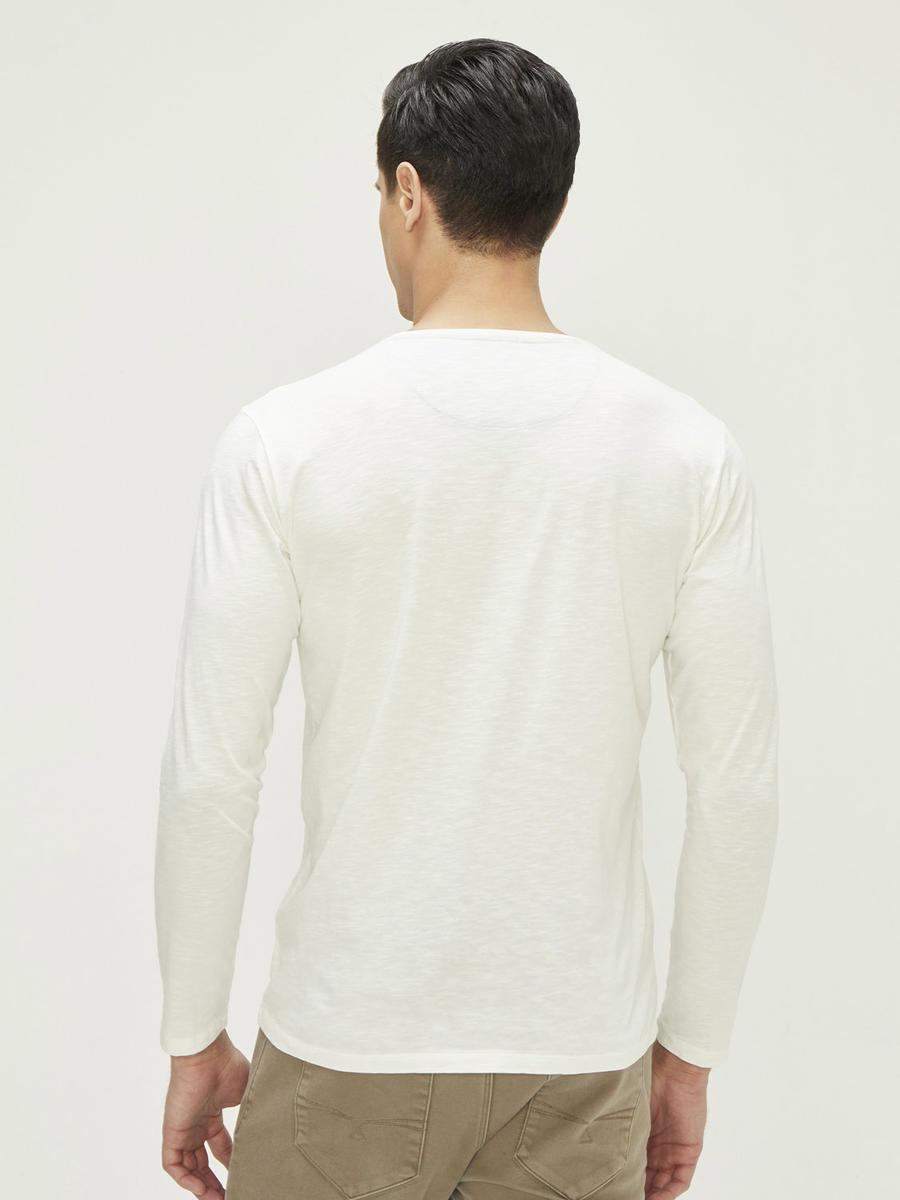 Xint Baskılı Ve Kumaş Yapıştırma Detaylı Tişört
