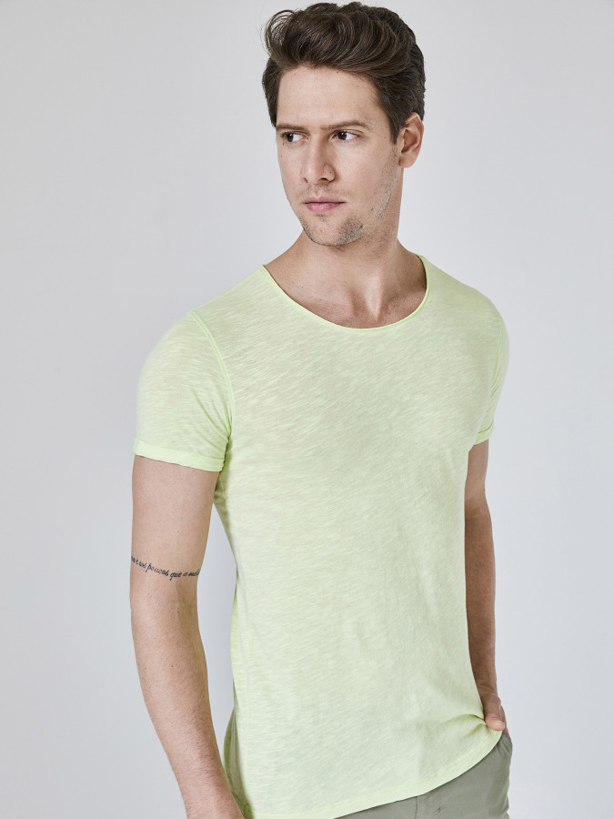 XINT - Xint Bisiklet Yaka Basic Tişört