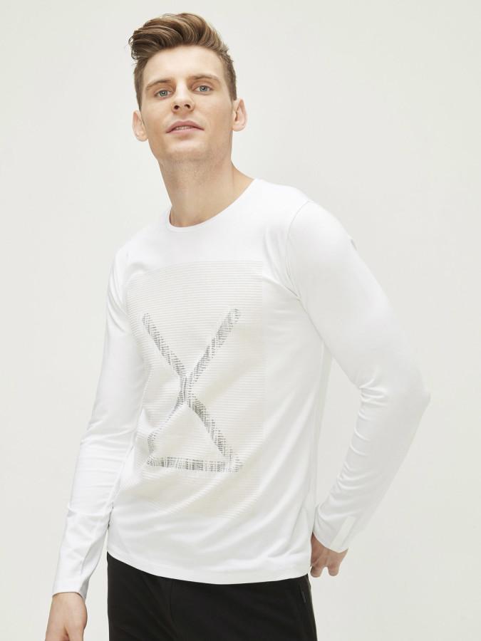 XINT - Xint Bisiklet Yaka Baskılı Tişört (1)