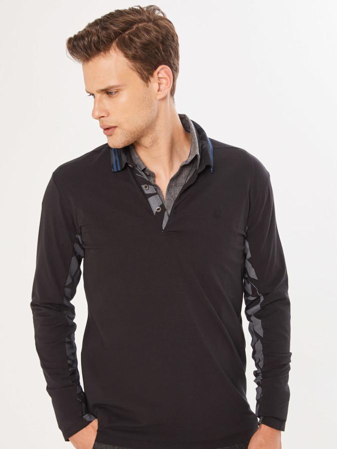 XINT - Xint Polo Yaka Baskılı Tişört (1)