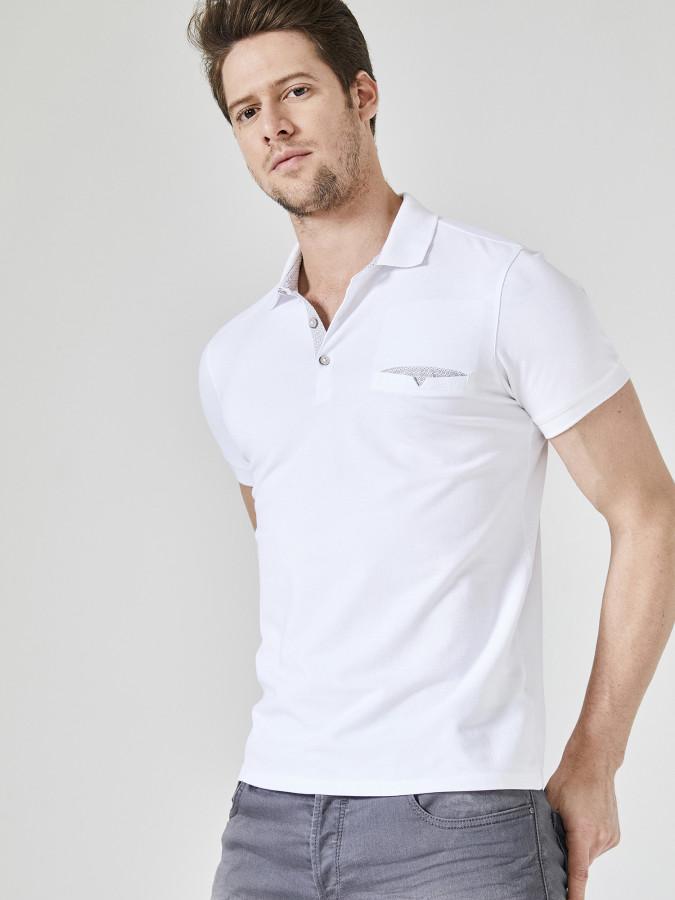 XINT - Xint Polo Yaka Cepli Tişört