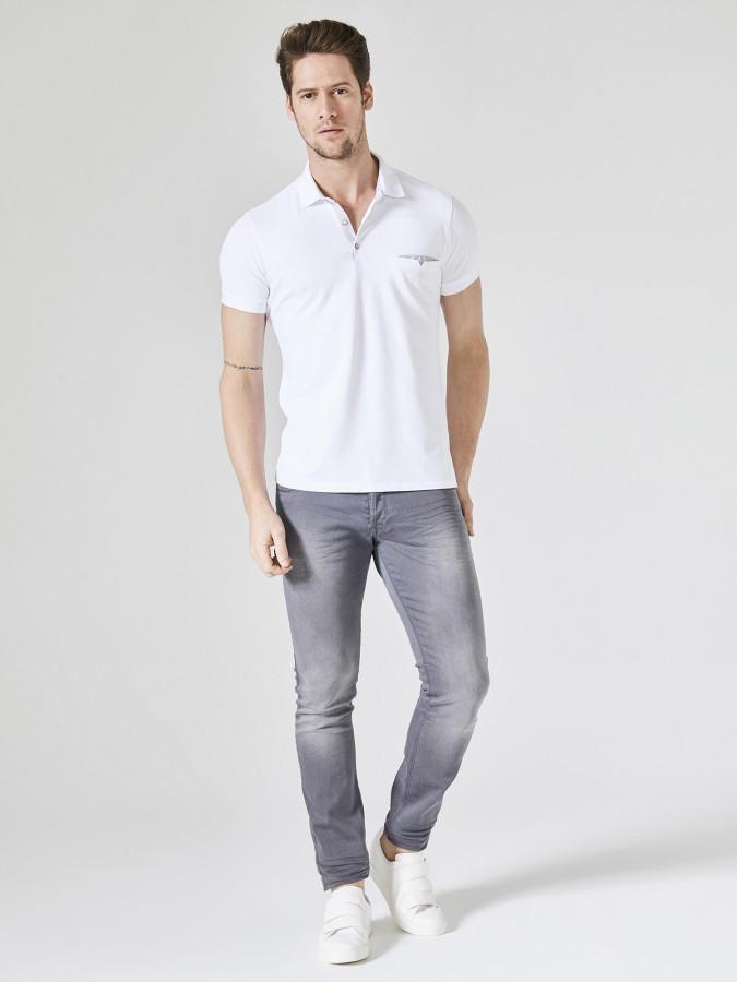 XINT - Xint Polo Yaka Cepli Tişört (1)