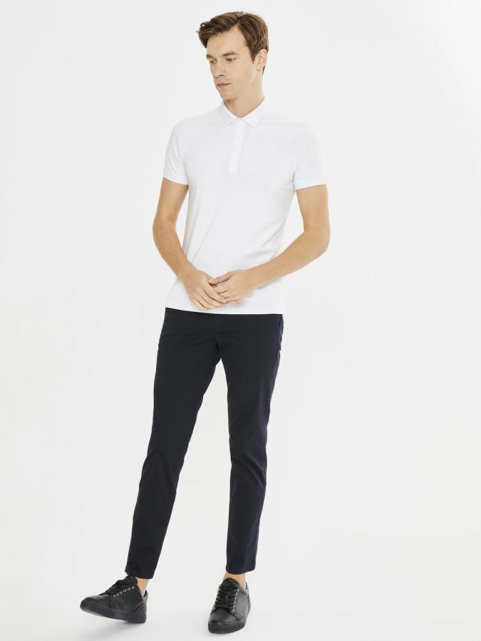 XINT - Xint Polo Yaka Nakış Detaylı Tişört (1)