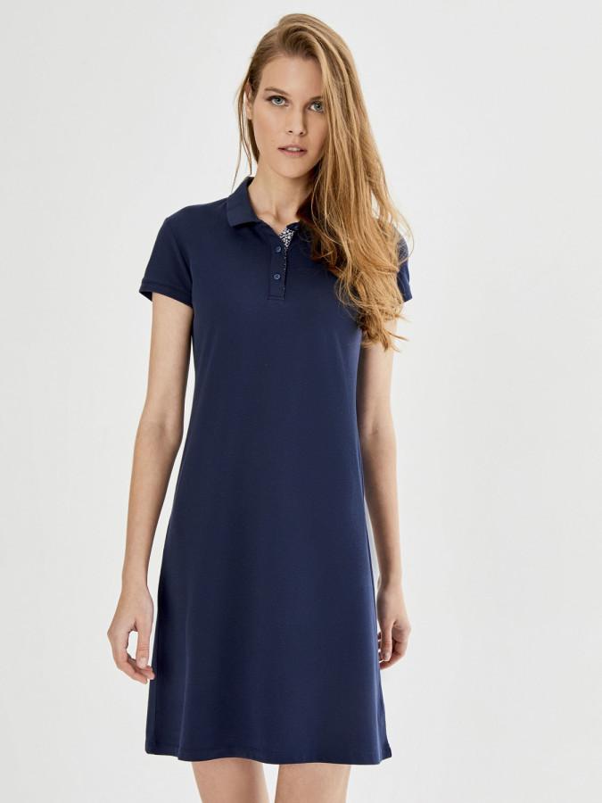 XINT - Xint Polo Yaka Basic Elbise (1)