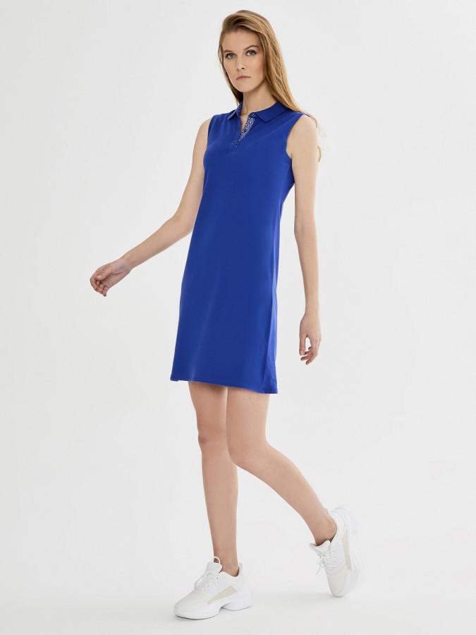 XINT - Xint Polo Yaka Kolsuz Basic Elbise (1)