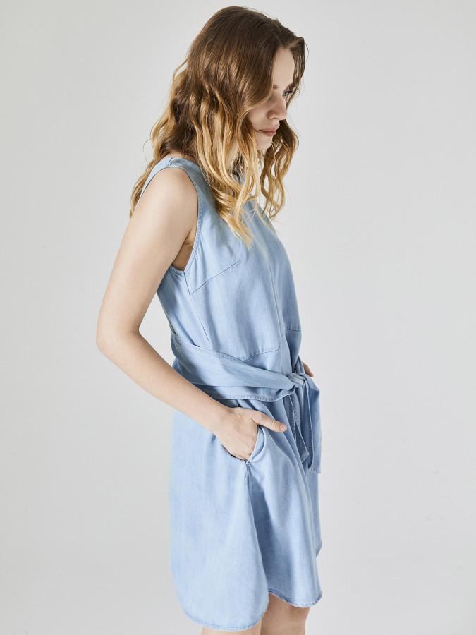 XINT - Xint Yuvarlak Yaka Elbise (1)